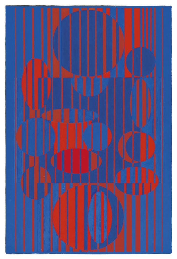 Victor Vasarely-IACA-C-1964
