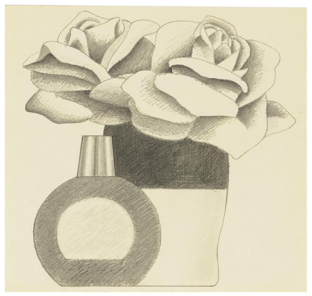 Tom Wesselmann-Still Life Drawing-1971