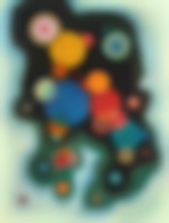 Wassily Kandinsky-Vertiefte Regung (Deepened Impulse)-1928