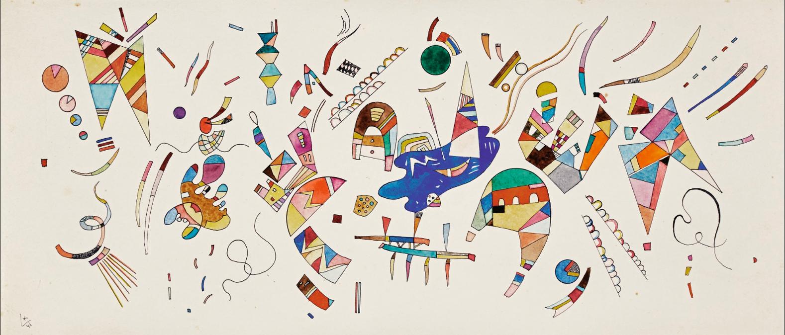 Wassily Kandinsky-Sans Titre-1941