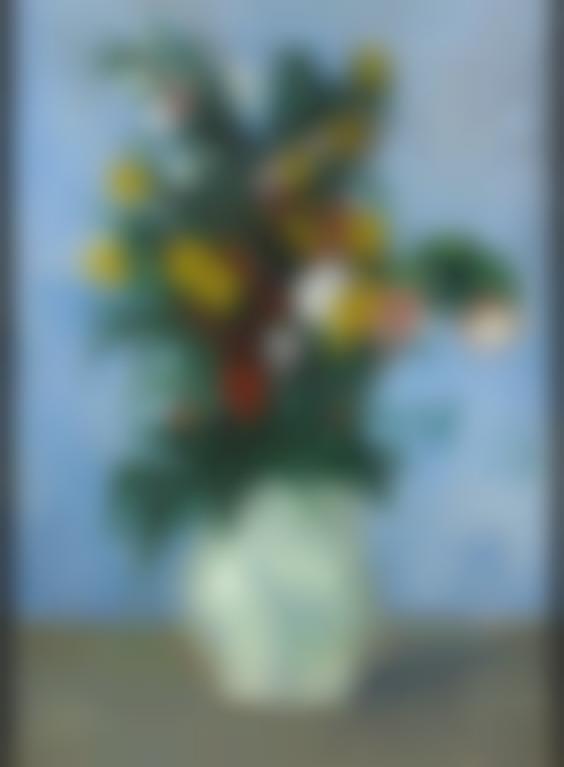 Pablo Picasso-Fleurs Dans Un Vase-1901