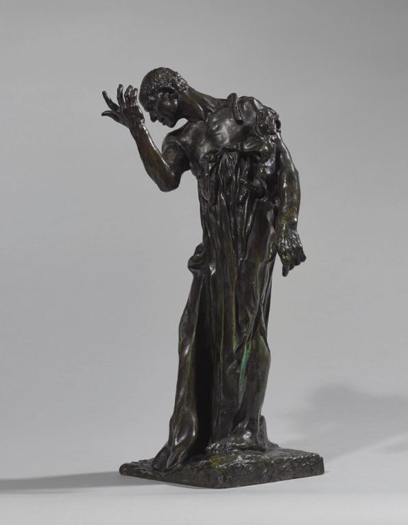 Auguste Rodin-Lun Des Bourgeois De Calais: Pierre De Wiessant, Vetu, Reduction-1895