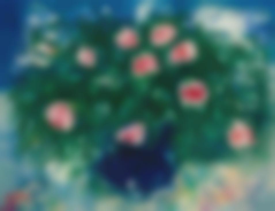 Marc Chagall-Vase De Roses-1929