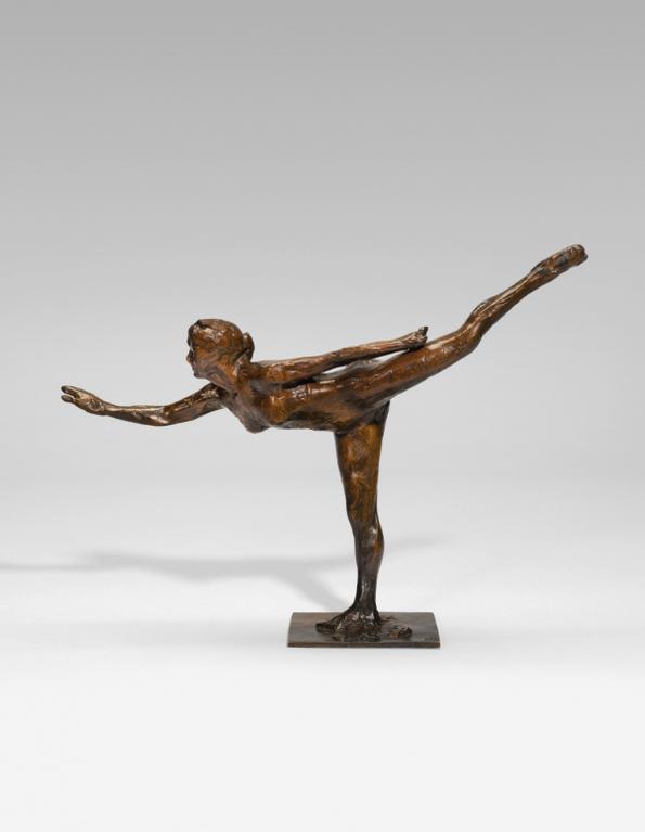 Edgar Degas-Danseuse, Arabesque Ouverte Sur La Jambe Droite, Bras Gauche Dans La Ligne-1895