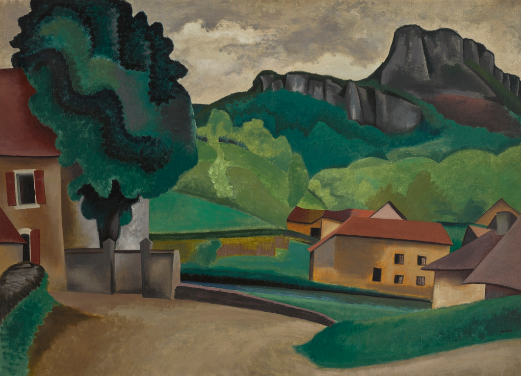 Auguste Herbin-Village-1923