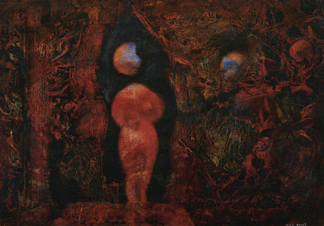 Max Ernst-Susanna Und Die Alten (Susanna And The Elders)-1953
