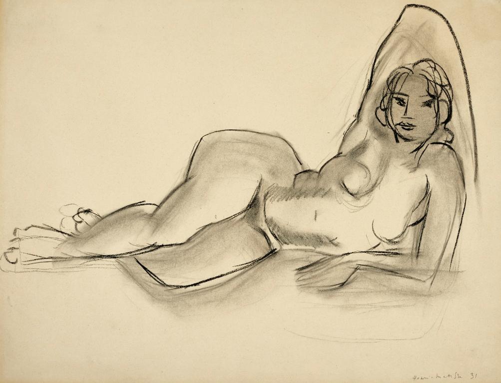 Henri Matisse-Femme Allongee-1931