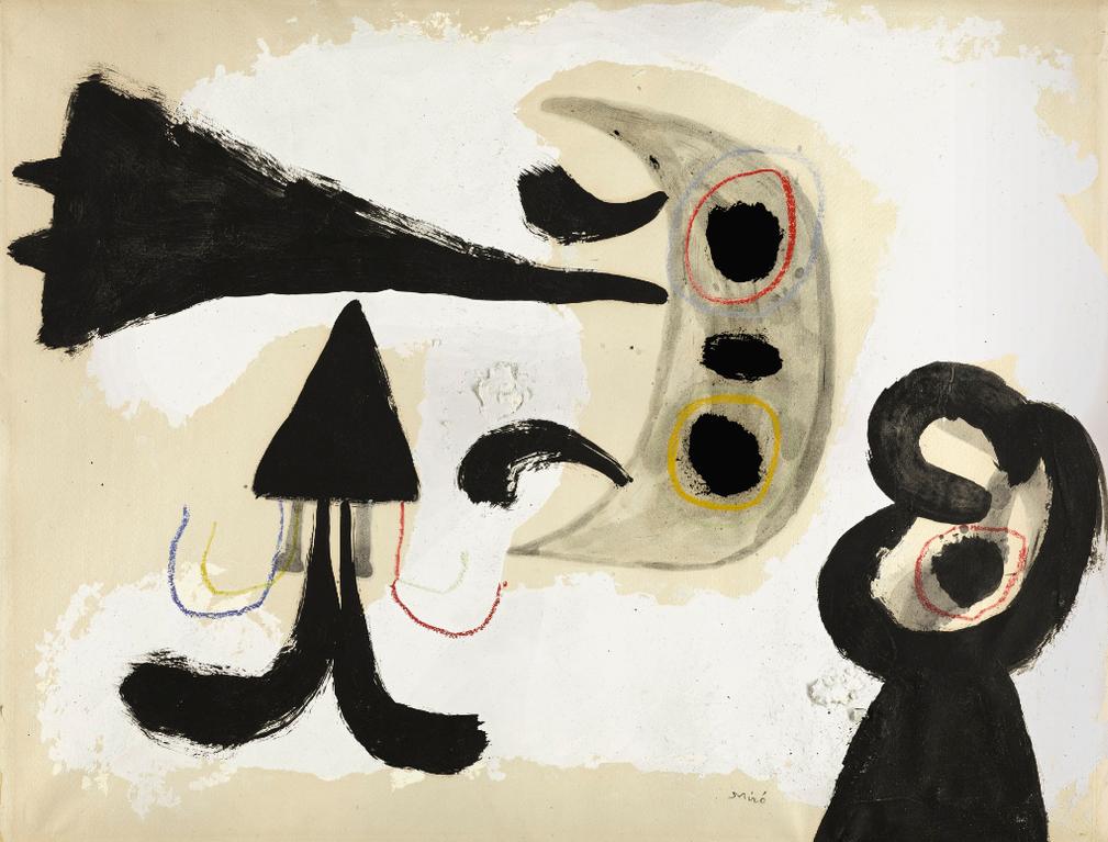 Joan Miro-Sans Titre-1949