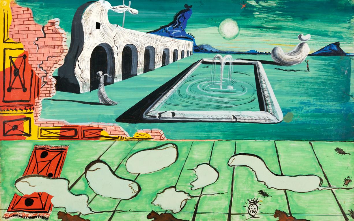Salvador Dali-Dream Of Venus (Reve De Venus)-1939