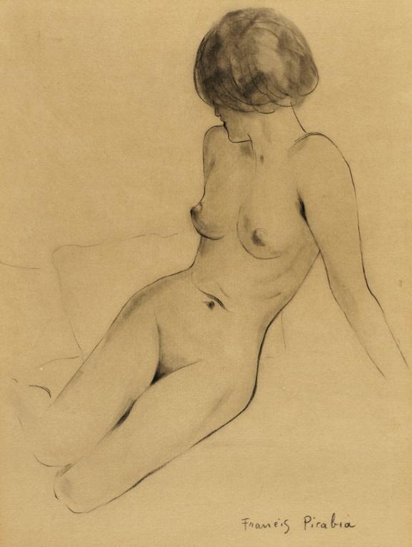 Francis Picabia-Sans Titre-1943