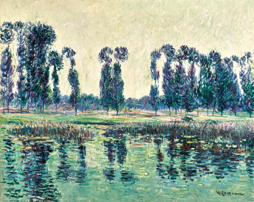 Gustave Loiseau-Bords De Leure-1901