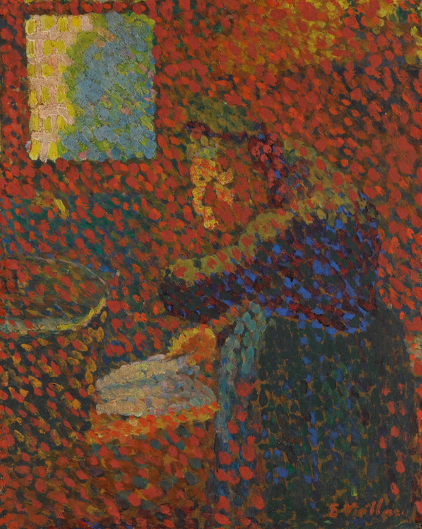 Edouard Vuillard-La Grand-Mere A Levier-1890