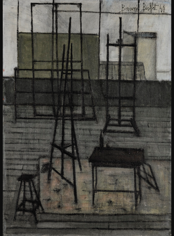 Bernard Buffet-Latelier-1949