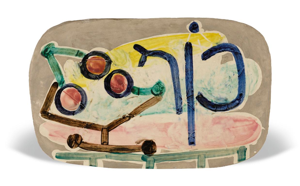 Pablo Picasso-Le Compotier-1948