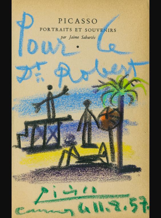 Pablo Picasso-Jours Dete, Cannes-1957