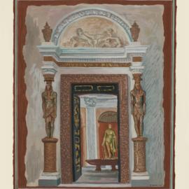 Gino Severini-Salle A Croix Grecque, Dans Le Palais Du Vatican-1936