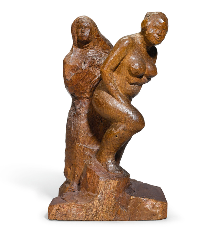 Christoph Voll-Weib Und Nonne (Woman And Nun)-1922