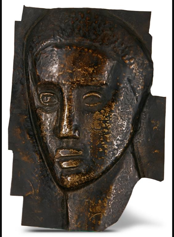 Julio Gonzalez-Masque Inacheve (Mascara Inacabada) (Unfinished Mask)-1918