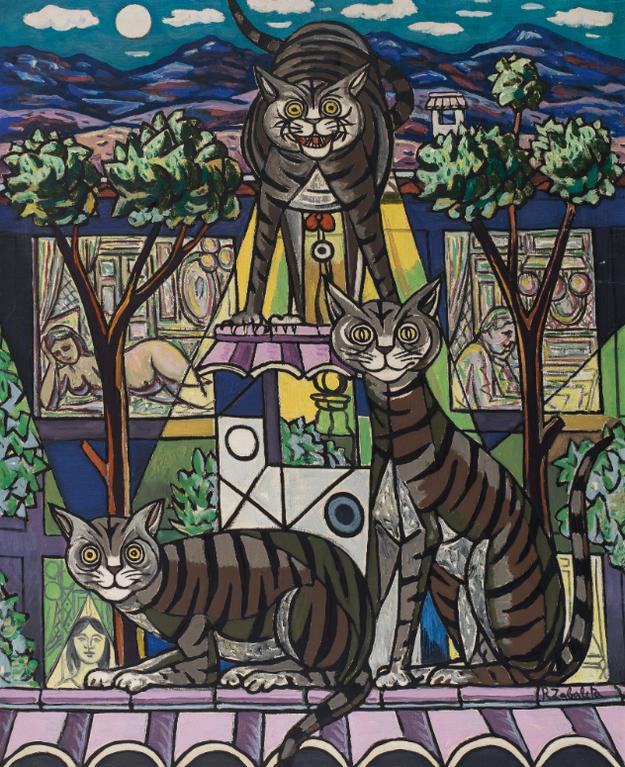Rafael Zabaleta - Nocturno De Los Gatos (The Night Of The Cats)-1958