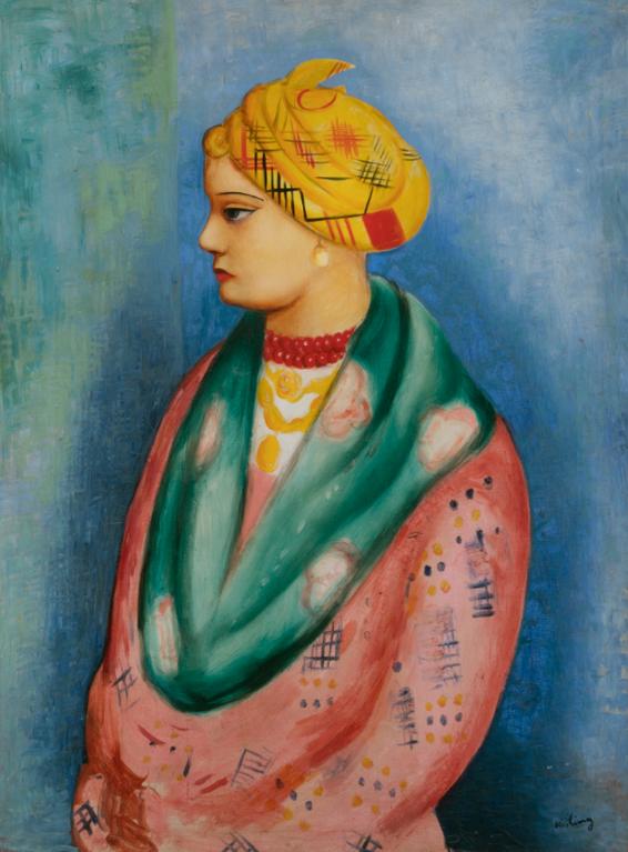 Moise Kisling-Portrait Daicha-1925