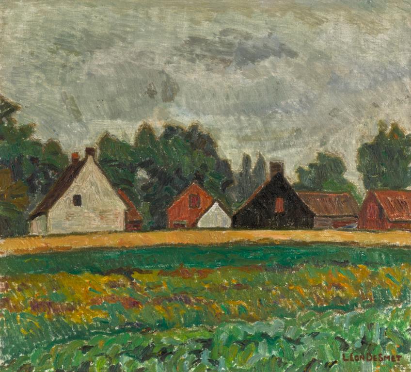 Leon De Smet-Farmhouses-1935