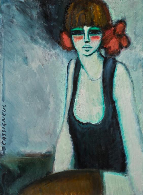 Jean-Pierre Cassigneul-Danseuse-1968