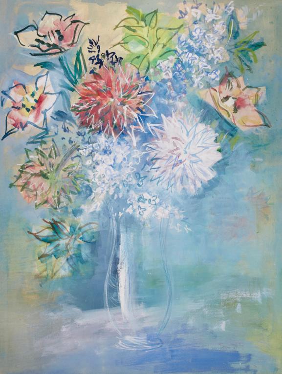 Jean Dufy-Bouquet De Fleurs-