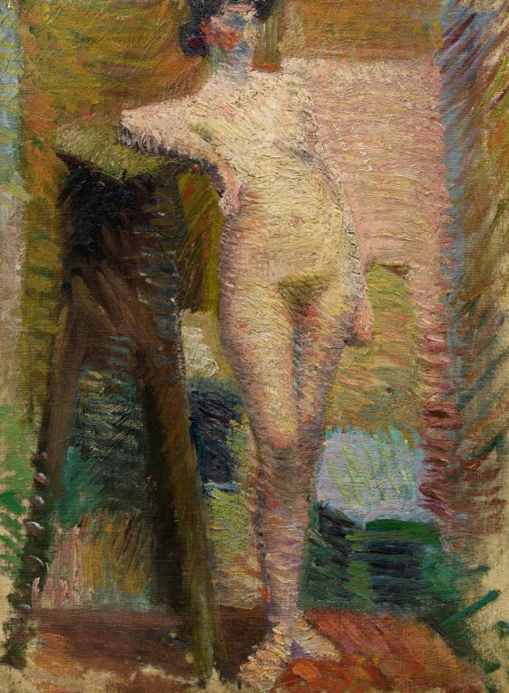 Georges Valmier-Nu Debout-1910