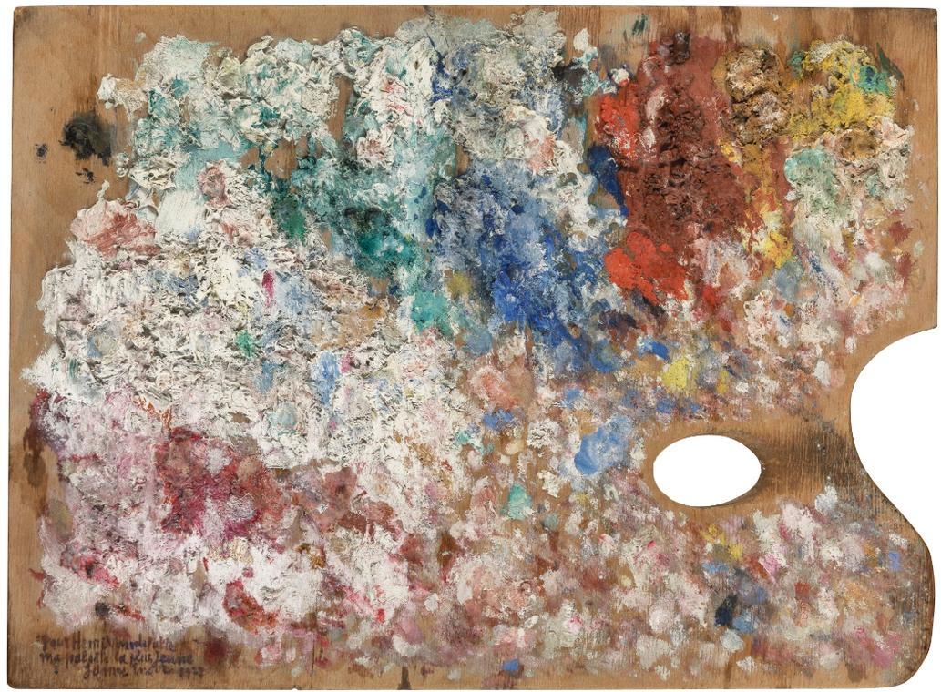 James Ensor-Palette De Lartiste-1927