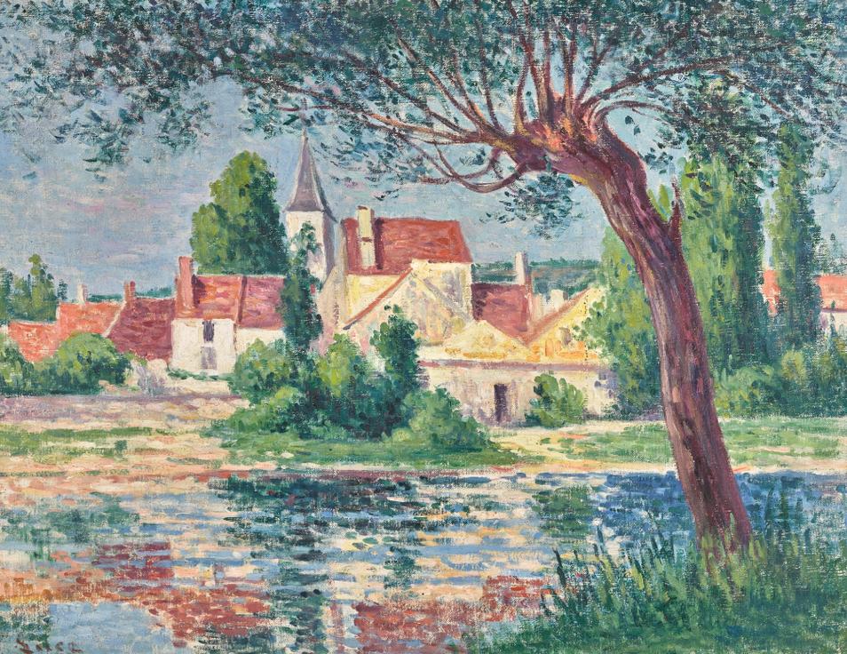 Maximilien Luce-Lucy-Sur-Cure-1906