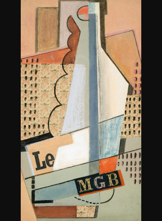 Maria Blanchard-Le Monogramme-1916