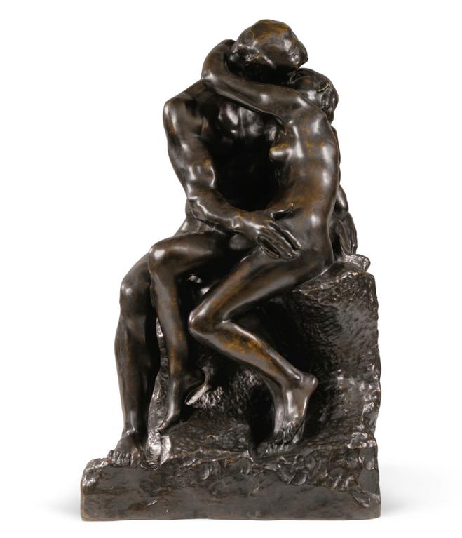 Auguste Rodin-Le Baiser, 2Eme Reduction Dit Aussi No. 4-1886