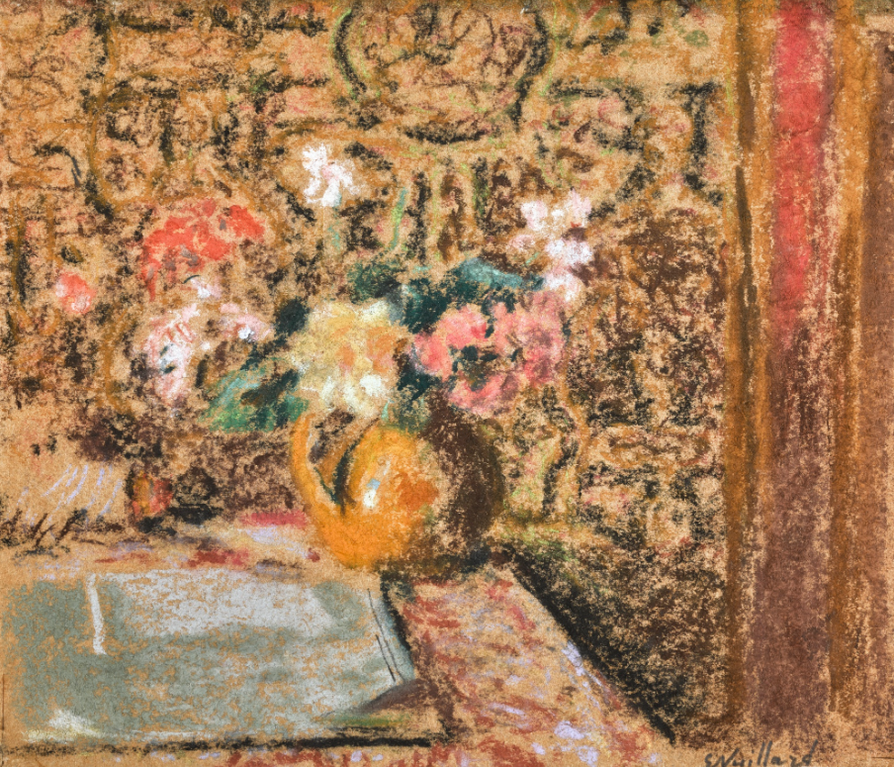 Edouard Vuillard-Nature Morte Aux Fleurs-1910