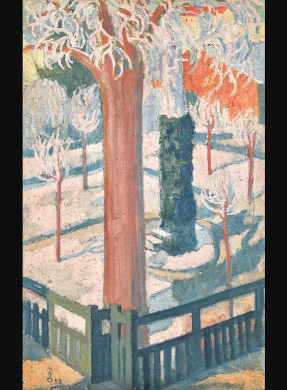 Maurice Denis-Jardin Du Couvent-1892