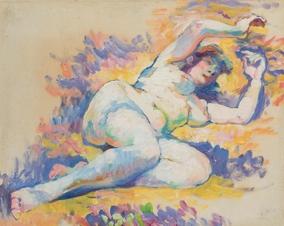 Henri-Edmond Cross-Etude Pour Napees-1908