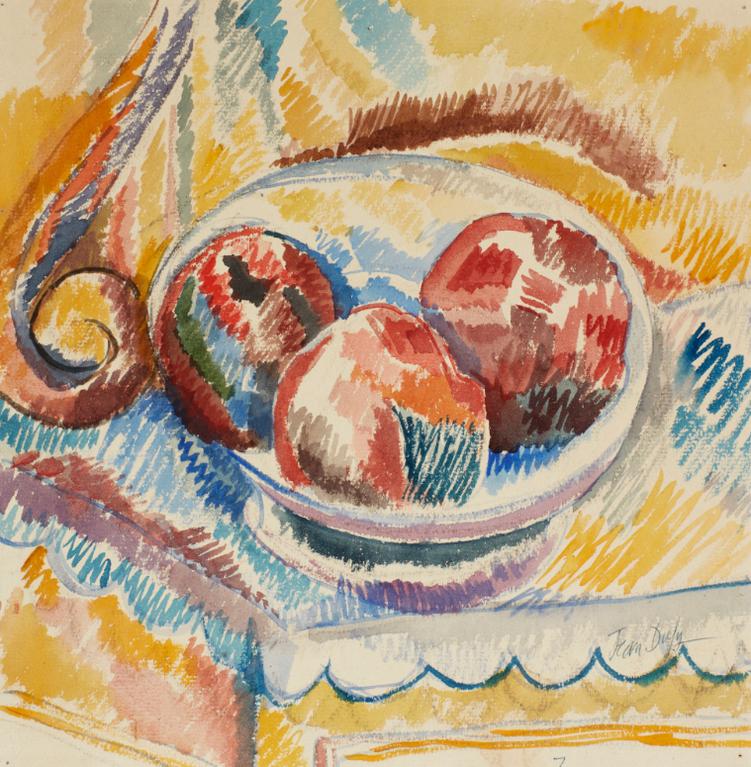 Jean Dufy-Nature Morte Aux Fruits-