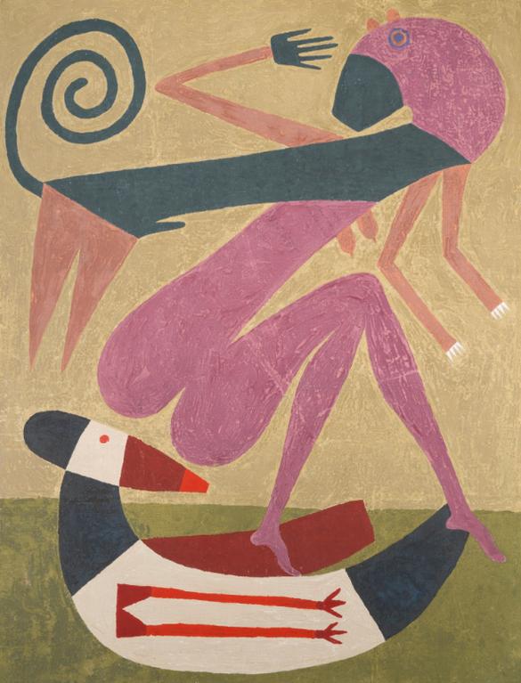 Victor Brauner-Le Choix-1963