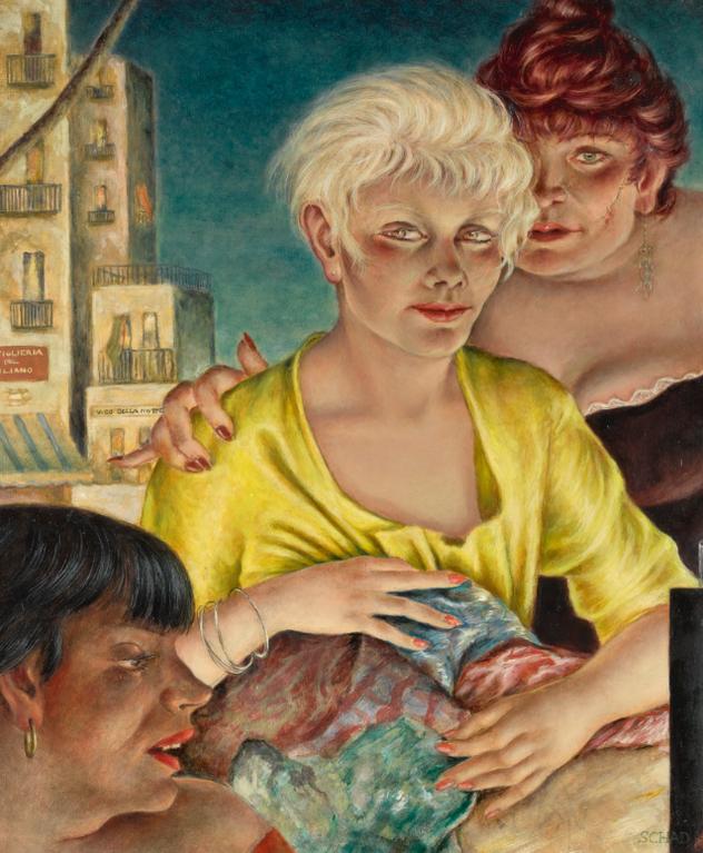 Christian Schad-Napoli (Naples)-1951