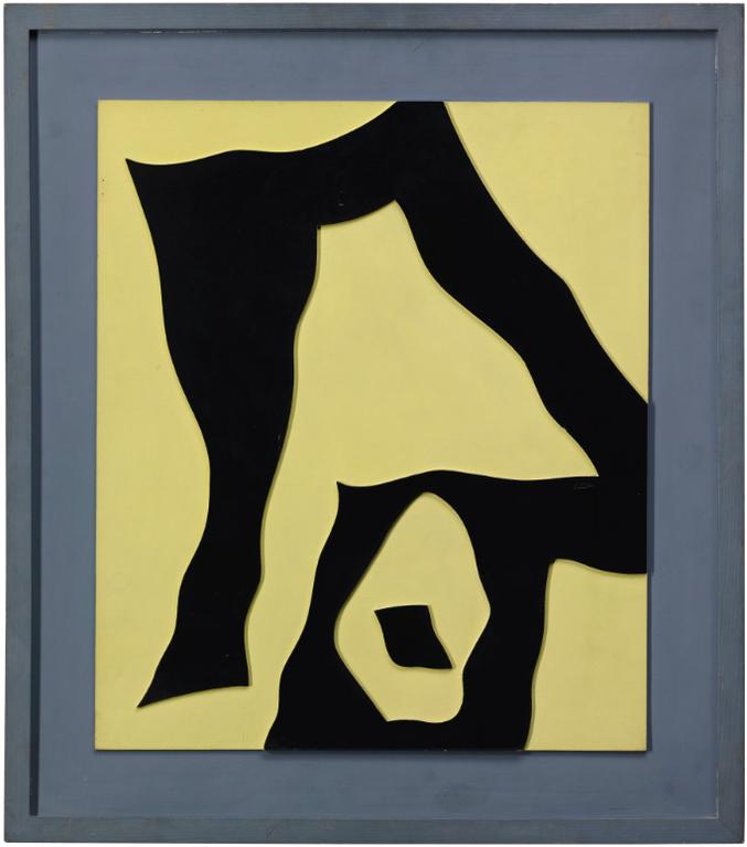 Jean Arp-Configuration Le Voilier Dans La Foret-1958