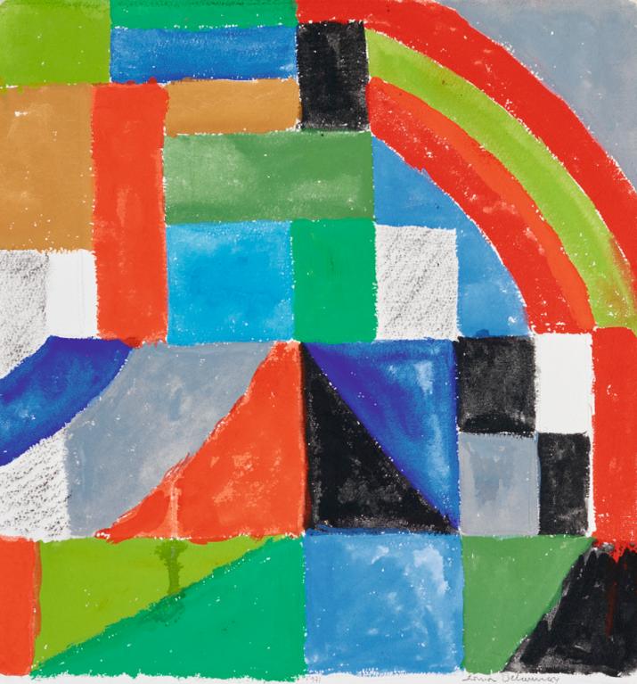 Sonia Delaunay-Composition-1962