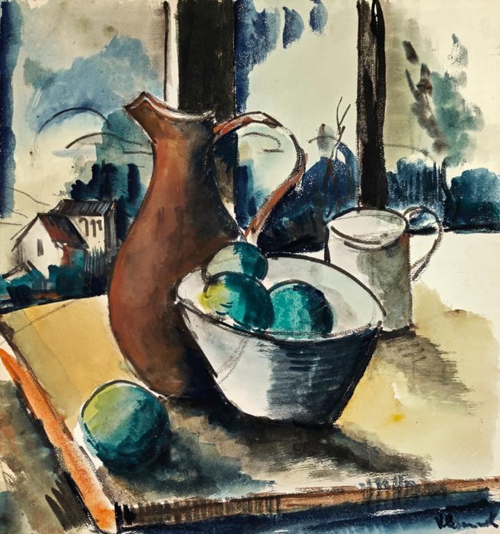Maurice de Vlaminck-Nature Morte-1919