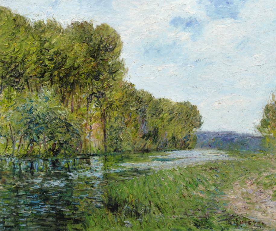 Gustave Loiseau-Bord De Riviere-1903