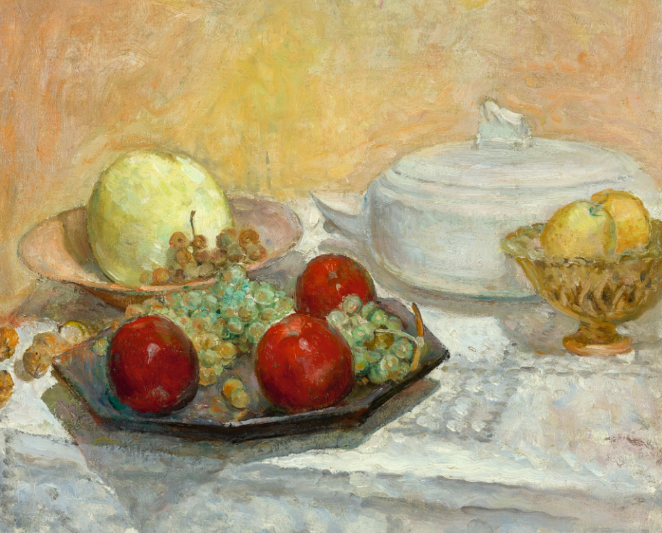 Henri Lebasque-Nature Morte A La Soupiere-