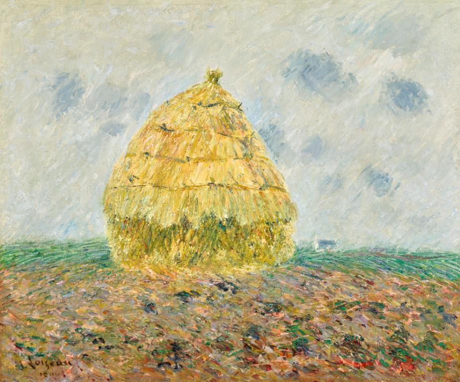 Gustave Loiseau-La Meule De Foin-1906