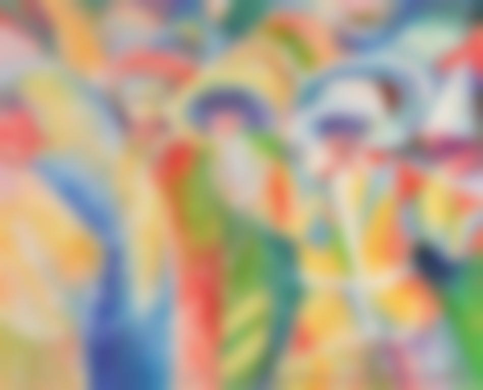 Serge Mendjisky-Carnaval A Venise-
