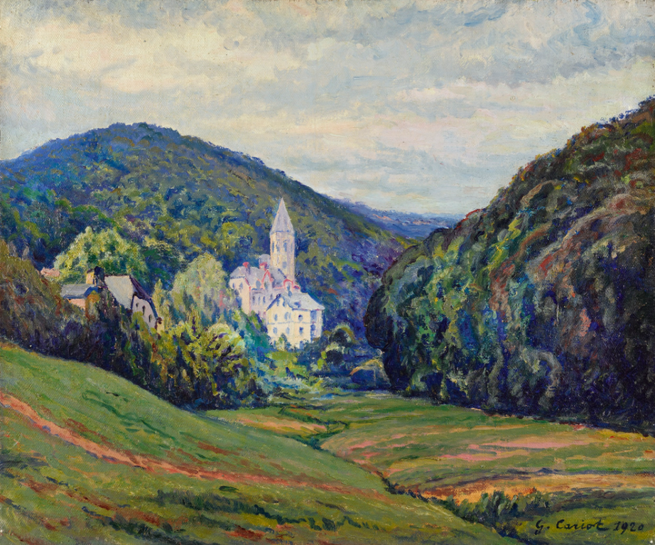 Gustave Cariot-Schlangenbad Et La Vallee-1920
