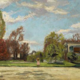 Charles Camoin-Promenade Au Parc-1903