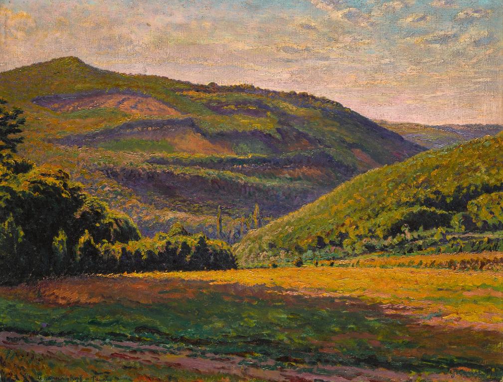 Gustave Cariot-Vue De Hansen Kopf Dans Le Taunus-1919