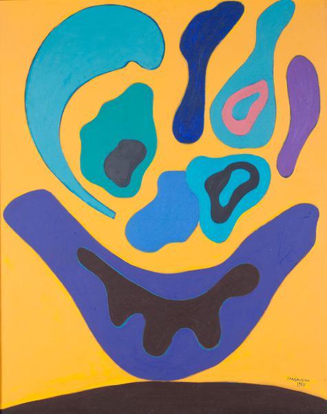 Manuel Cargaleiro-Untitled-1965