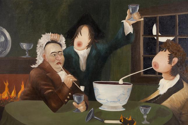 Sean Landers-A Midnight Modern Conversation (Ignoring Hallucinations)-1996